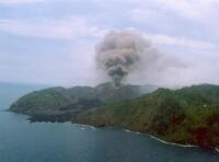 Barren Osland Volcano