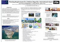 Planning Requirements for a Modern Mega-Size International Airport