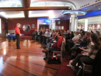Richard Evans CDG speaking at The Stage Events (London 2012)