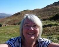 I love walking in the hills in Cumbria