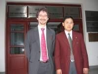 Paul with Baishun Yuan, Head of Clean Governance Center in Hunan