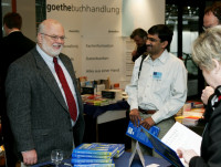 Book signing in Duesseldorf, Germany