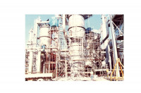 Liquefied Natural Gas Plant Under Construction