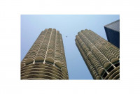 Marina Buildings in Chicago Built Using 30% Fly Ash Concrete