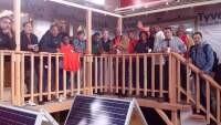 Teaching Solar at Richmond Build