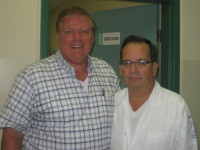 Me with the Renown Dr. Enrique Valenzuela P. in Guayaquil, Ecuador
