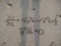 Navier-Stokes on the Beach