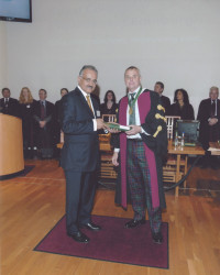 Award of Fellowship of Royal College of Physicians of Edinburgh to a Surgeon