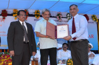Conferred With Scientist of the Year Award by Hon'ble Defence Minister of India
