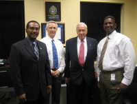 Meeting with the Sheriff (Director), Chief and DHS Under Secretary Allen