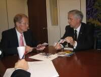 Meeting with Senator Nelson
