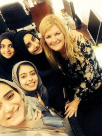 Teaching English to Palestinian Girls in the Middle East
