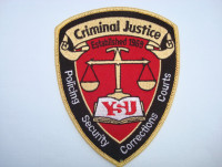 Youngstown State University Criminal Justice Seal