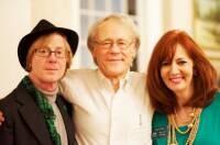 With Kim Thore' and author Graham Hancock, Greensboro College 2015