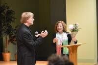 Author Deborah Dwork, Schluenes Lecture 2015