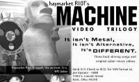 Print Ad for Machine