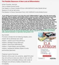 The Flexible ELA Classroom Hybrid Course