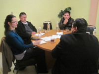 Interview with local officials, Chiapas, Mexico