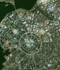 Canberra from Space