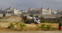 National Assembly of Myanmar in Naypyidaw, the new capital of Myanmar