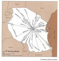 Centrality of Dodoma in Tanzania