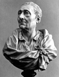 Buste de Montesquieu (Vers 1770).  Jean-Claude-François-Joseph Rosset