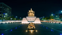 The Statue of King Sejong the Great in Sejong, new administrative capital
