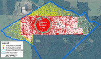 Using existing data to predict contaminations in adjacent areas using GIS