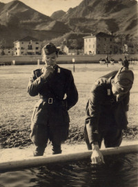 Everyday life in the Italian Army (1941)