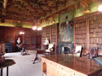 Walter Scott's library at Abbotsford