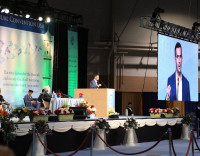 Speaking on Prophet Muhammad at Jalsa Convention 2016 in Harrisburg, PA