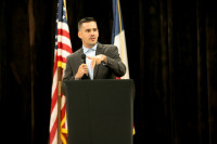 Speaking at Clear Lake Islamic Center and MAS at annual Ramadan gathering