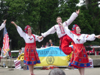 Canadian Dance Troupe for Ukrainian day in San Francisco