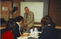 An engaged group of teachers