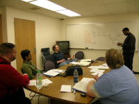 Dr. Chambers leads interactive didactics for physicians in addiction psychiatry