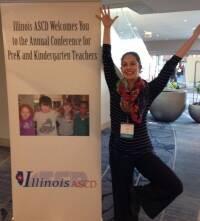 Carla at the Illinois ASCD conference