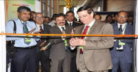 Ribbon cutting to open exhibits, International Tribology Conference, Pune, India