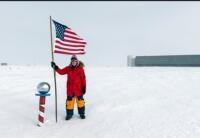 South Pole, January, 2018