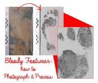 Visualizing Bloody Footwear