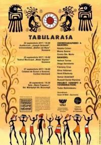 Tabularasa contemporary dance performance poster