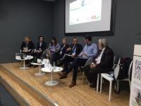 Panel discussion on just transition at EU pavilion, COP23, Bonn 2017