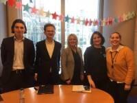 Discussion of EU public policy at European Parliament, 2018