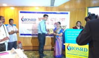 Felicitation of IOSRD Young Scientist of The Year Award, 2017