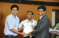 Felicitated with Achiever Award (2015) by VIT University