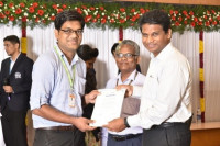 Felicitated with Special Achiever Award (2015) by VIT University, Vellore