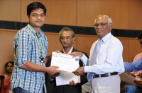 Felicitated by Research Award 2014 by VIT University, Vellore