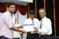 Felicitated by Research Award 2015 by VIT University, Vellore