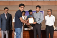 Felicitated by Research Award 2016 by VIT University, Vellore