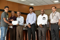 Felicitated by Research Award 2017 by VIT University, Vellore