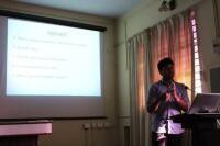 Invited Expert Talk at IIUCNN, MG University, Kottayam, India